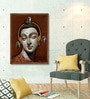 Canvas 30 x 40 Inch Meditation Framed Limited Edition Digital Art Print by Jiban Biswas by ArtCollective