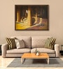 Canvas 40 x 30 Inch Hampi P2 Framed Limited Edition Digital Art Print by Ganesh Doddamani by ArtCollective