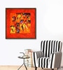 Canvas 40 x 40 Inch Untitled Framed Limited Edition Digital Art Print by Krishna Pulkundwar by ArtCollective