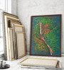 Canvas 8 x 12 Inch Katherine Falls Framed Limited Edition Digital Art Print by Usha Shantaram by ArtCollective