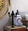 Artelier Black Glass Candle Stand