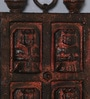Brown Solidwood Antique Jharokha by Artisans Rose