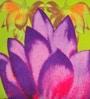 ARTychoke Green Silk 16 x 16 Inch Waterlily Cushion Cover