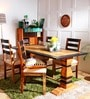 Durham Four Seater Dining Set in Dual Tone Finish by Amberville