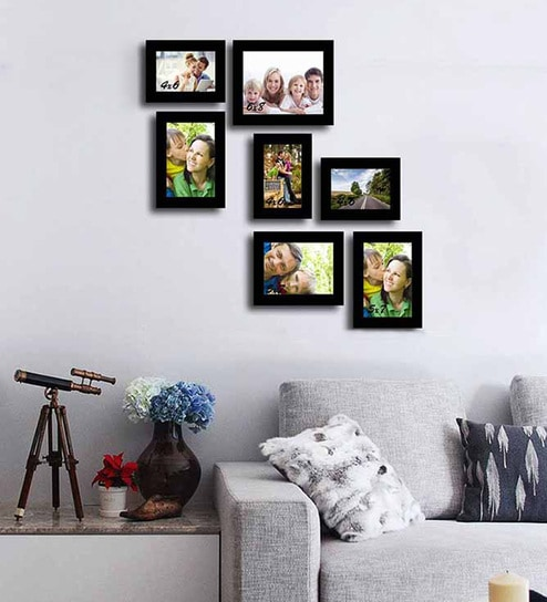 Buy Memory black Fiber Photo Frame by Art Street Online - Collage ...