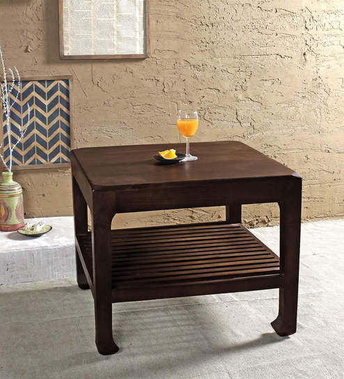 Ashley Chocolate Coffee Table In Paintco Walnut Finish By Fabuliv