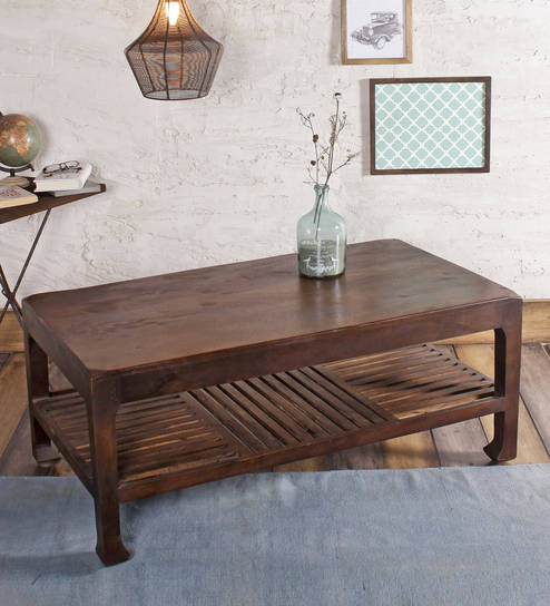 Ashley Hue Coffee Table In Paintco Walnut Finish By Fabuliv