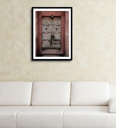Buy Asian Artisans MDF & Paper 16 x 2.5 x 22 Inch Vertical Door 1 ...