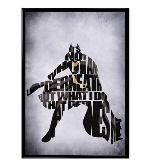Buy Astrode Batman Wall Frame Online - Slogans & Motivational ...