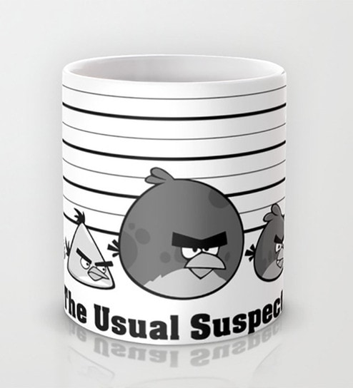 Parody Suspects The Angry Usual Birds Mug Astrode v0wmO8nN