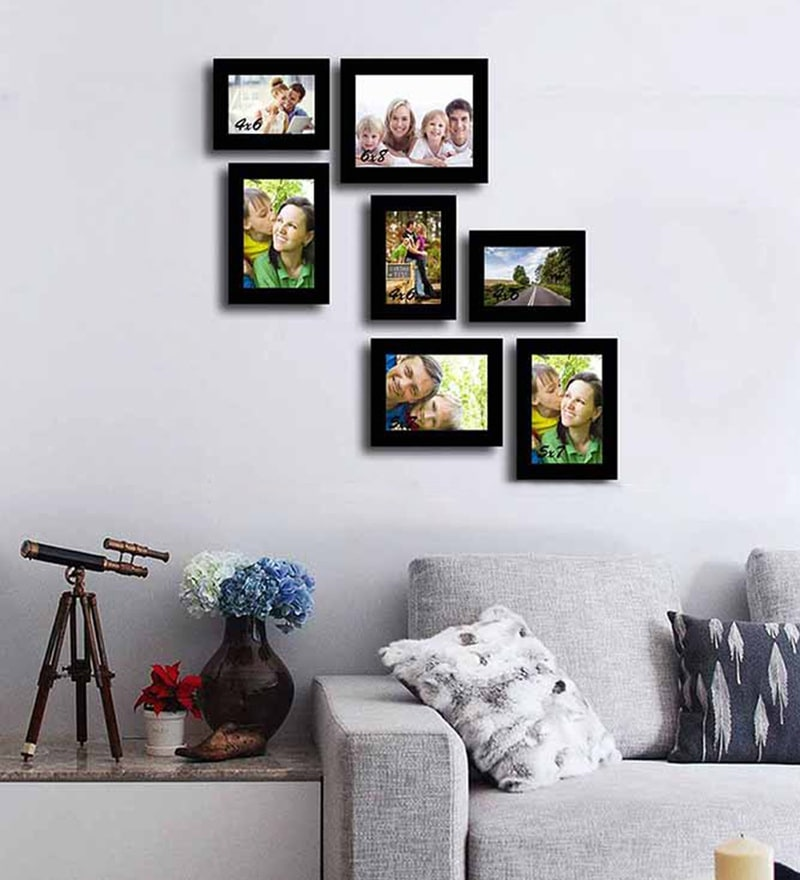 Memory black Fiber Photo Frame by Art Street