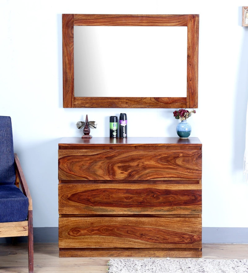 Claremont Dressing Table in Provincial Teak  Finish by Woodsworth