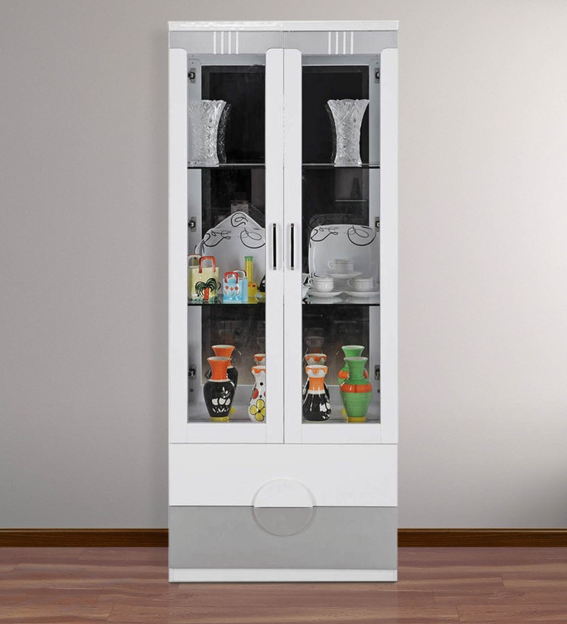 Aster Display Cabinet cum Book Case by Royal Oak