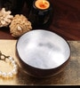 Asian Artisans Vietnamese Silver Bamboo and Lacquer Bowl