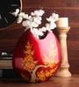 Multicolour Wooden Flowers Vase by Asian Artisans