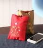 Asian Artisans Silk Mobile Pouch - Set of 2