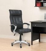 Atlas Executive High Back Chair in Black Colour