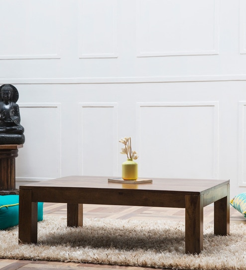maritsa low height coffee table in provincial teak finish by woodsworth