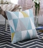 At Home Multicolour Cotton 20 x 20 Inch Cushion Cover