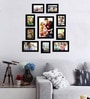 Atilio Collage Photo Frame in Black by CasaCraft