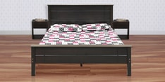 Austin King Size Bed in Cappuccino Finish