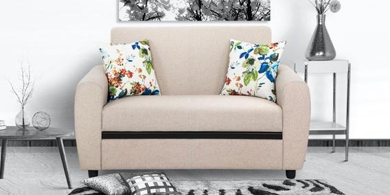 Austin 2 Seater Sofa In Beige Colour