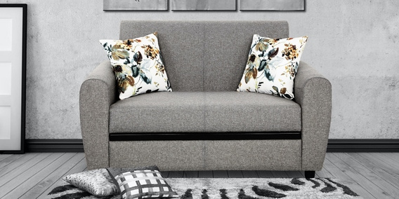 Austin 2 Seater Sofa In Grey Colour