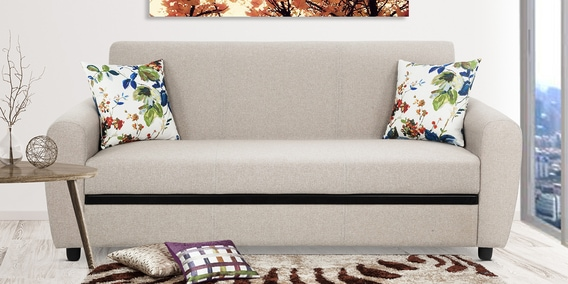 Seater Sofa In Beige Colour