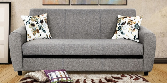 Austin 3 Seater Sofa In Grey Colour