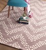 Augusta Carpet 63 x 91 Inch in Beige by Casacraft