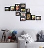 Contemporary Black Photo Memory Wall by Art Street
