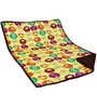 Aurraa Smiley Cotton Quilt in Yellow Colour