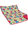 Aurraa Smiley Cotton Quilt in Pink Colour