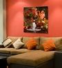 Hashtag Decor Autumn Flowers Aluminum 17.75 x 17.75 Inch Framed Art Panel