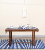 Avian Four Seater Dining Table in Provincial Teak Finish