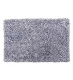 Avira Home Grey Micro Chenille 18 x 25.5 Inch Super Soft Marl Door Mat