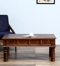 Avagraha Coffee Table In Provincial Teak Finish