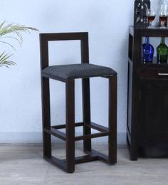 Avian Bar Chair In Warm Chestnut Finish