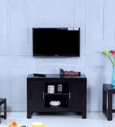 Avian Entertainment Unit In Warm Chestnut Finish