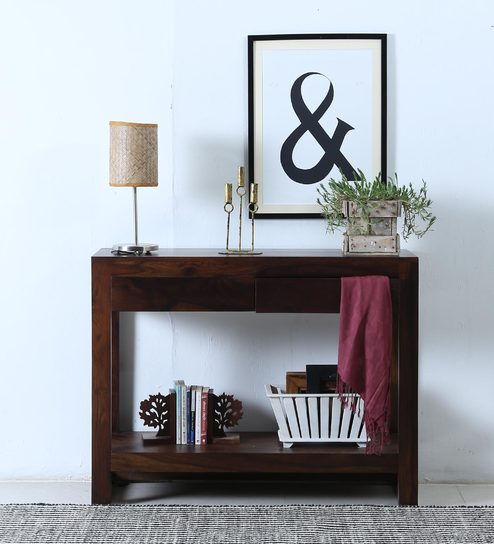 Artistic Wooden Console Tables