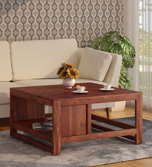 Awe Inspiring Avian Solid Wood Coffee Table In Honey Oak Finish By Woodsworth Bralicious Painted Fabric Chair Ideas Braliciousco