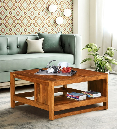 Avian Solid Wood Coffee Table In