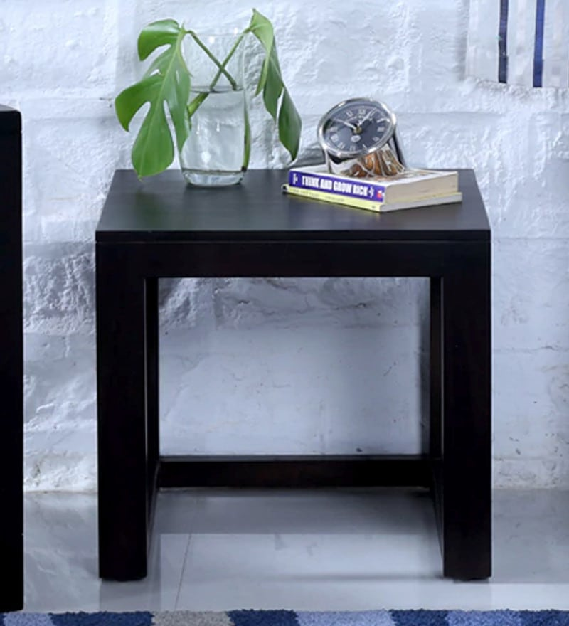 Avian End Table in Warm Chestnut Finish by Woodsworth