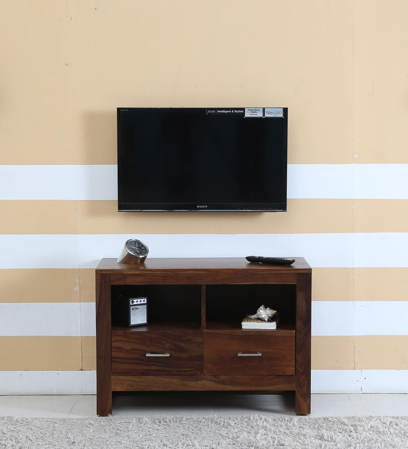 Avian Entertainment Unit in Provincial Teak Finish by Woodsworth