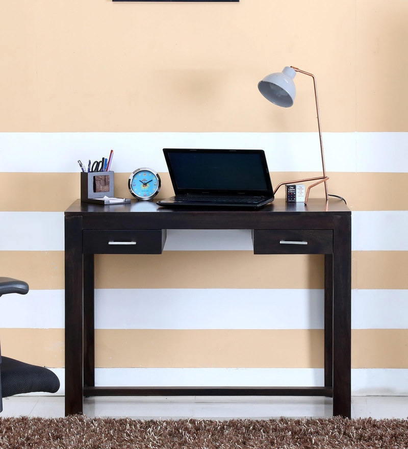 Avian Study & Laptop Table in Warm Chestnut Finish by Woodsworth