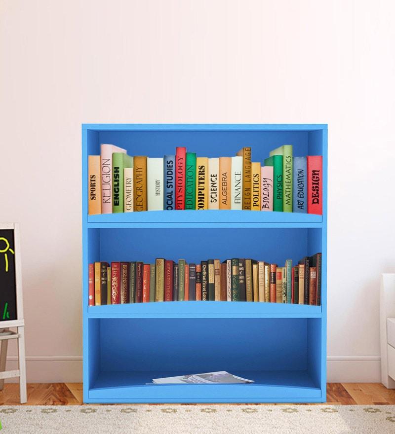 Avitus Multipurpose Storage Rack cum Book Shelf in Light Blue Colour by UNiCOS