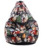 Marvel Kids Bean Bag with Beans in Multicolour by Orka