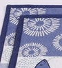 Avira Home Blue Cotton Aquatic Table Mat - Set of 2