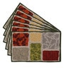 Avira Home Elee Multicolour Cotton & Polyester Placemats - Set of 6