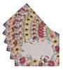 Avira Home Floral Essence Multicolour Cotton & Polyester Placemats - Set of 6